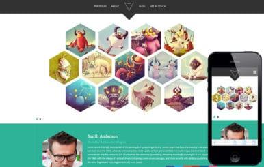 Hexa a Flat Portfolio Bootstrap Responsive Web Template