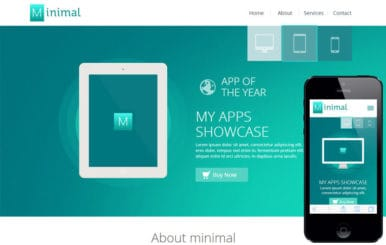 Minimal a Flat Style Bootstrap Responsive Web Template