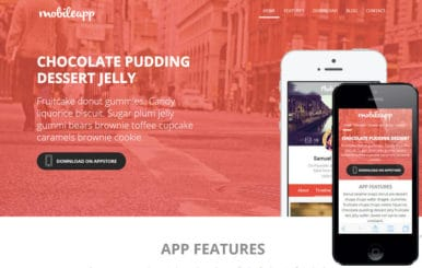 Mobileapp a App Based Flat Bootstrap Responsive Web Template