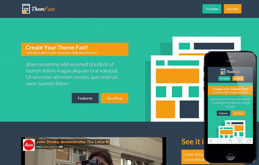 Themfast a App Based Flat Bootstrap Responsive Web Template Mobile website template Free