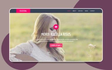 Celestial a Personal Portfolio Flat Bootstrap Responsive web template