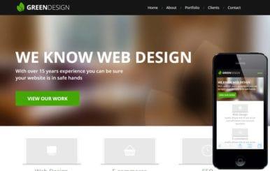 Green Design a Corporate Portfolio Flat Bootstrap Responsive web template