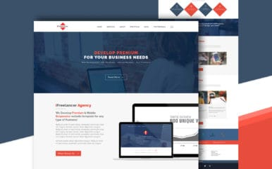Ifreelancer a Personal Portfolios Flat Bootstrap Responsive Web Template