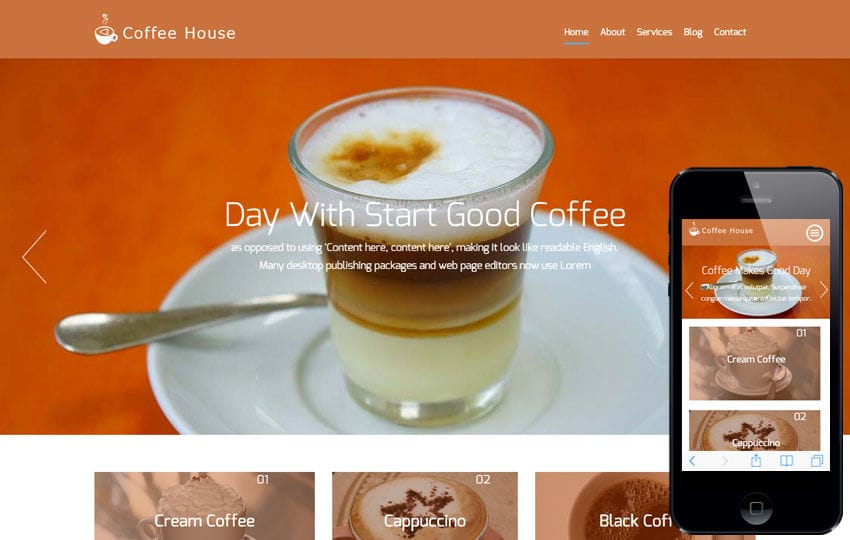 Coffee House a Hotel Category Flat Bootstrap Responsive Web Template
