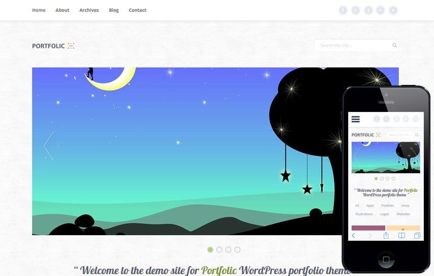 Portfolic a Personal Portfolios Flat Bootstrap Responsive Web Template
