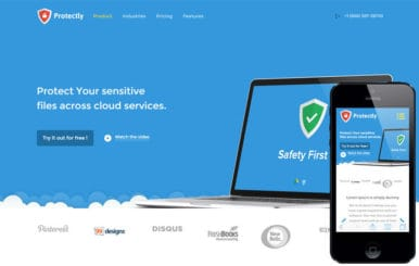 Protectly a Web Hosting Flat Bootstrap Responsive Web Template