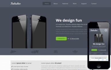 Fantastico a Mobile App Landing Flat Bootstrap Responsive Web Template