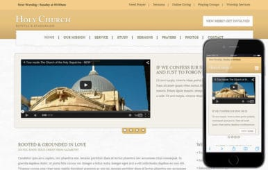 Holy Church a Religious Category Flat Bootstrap Responsive Web Template