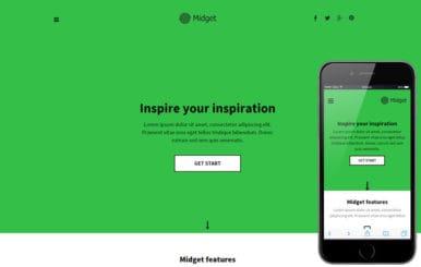 Midget a Personal Portfolio Flat Bootstrap Responsive Web Template