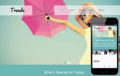 Trendz a Fashion Category Flat Bootstrap Responsive Web Template