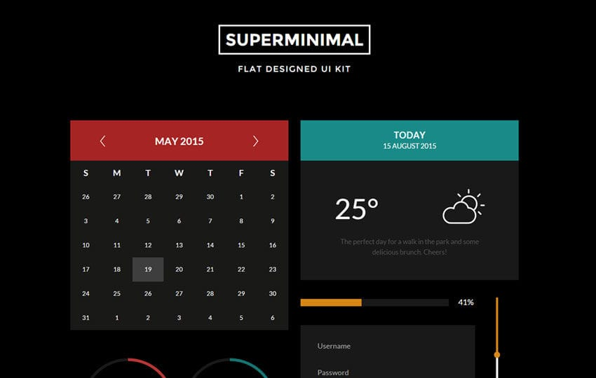 Super Minimal V2 UI Kit a Flat Bootstrap Responsive Web Template Mobile website template Free