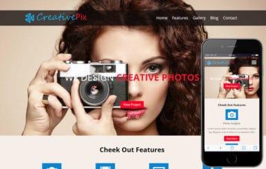 Creative Pix a Photographer Portfolio Flat Bootstrap Responsive Web Template