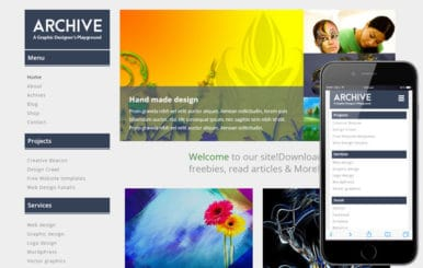 Archive a Blogging Category Flat Bootstrap Responsive Web Template