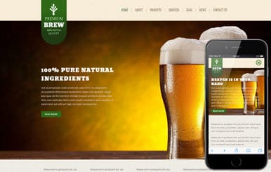 Brew a Hotel Category Flat Bootstrap Responsive Web Template