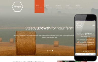 Tillage a Agriculture Category Flat Bootstrap Responsive Web Template
