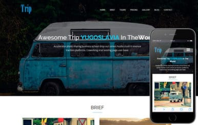 Trip a Travel Guide Flat Bootstrap Responsive web template
