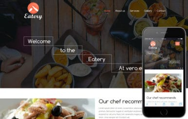 Eatery a Hotel Category Flat Bootstrap Responsive Web Template