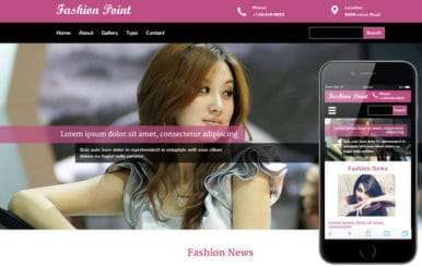 Fashion Point a Fashion Category Flat Bootstrap Responsive Web Template