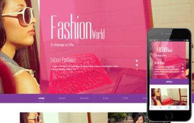 Fashion World a Fashion Category Flat Bootstrap Responsive Web Template