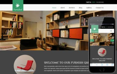 Furnished a Interior Architects Multipurpose Flat Bootstrap Responsive Web Template