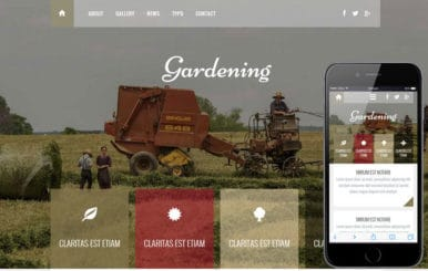 Gardening a Agriculture Category Flat Bootstrap Responsive Web Template