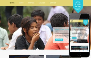 Happy Home a Charity Category Flat Bootstrap Responsive Web Template