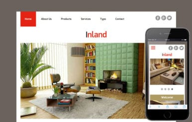 Inland a Interior Architects Multipurpose Flat Bootstrap Responsive Web Template