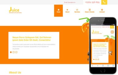 Juice a Hotel Category Flat Bootstrap Responsive Web Template