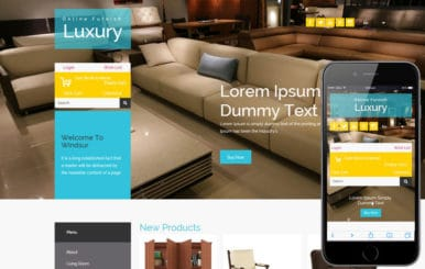 Luxury Furnish a Flat Ecommerce Bootstrap Responsive Web Template