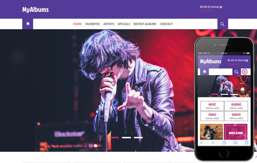 My Albums a Entertainment Category Flat Bootstrap Responsive web template Mobile website template Free