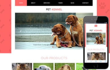 Pet Kennel a Animal Category Flat Bootstrap Responsive Web Template