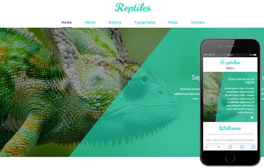 Reptiles a Animal Category Flat Bootstrap Responsive Web Template Mobile website template Free