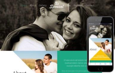 Spousal a Wedding Planner Flat Bootstrap Responsive Web Template
