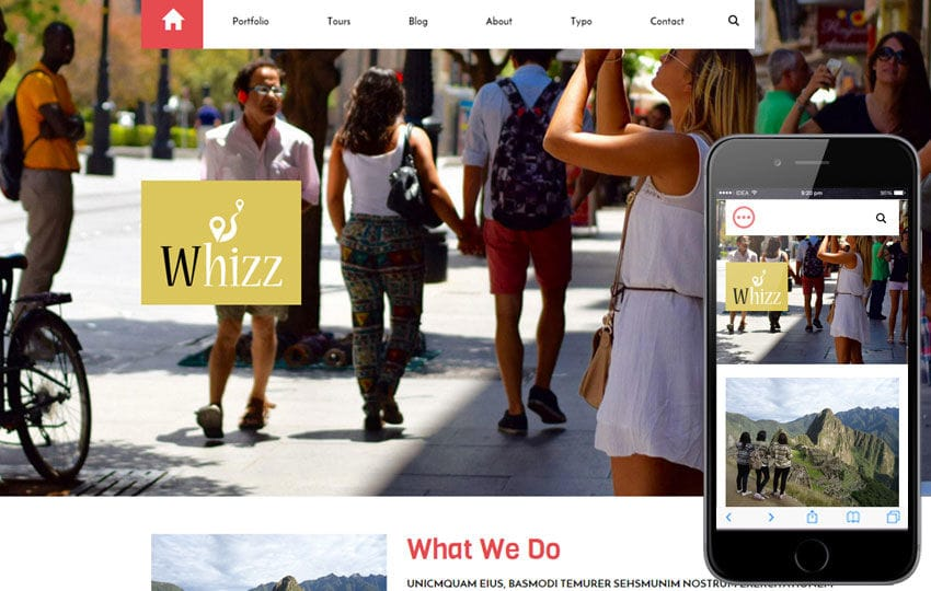 Whizz a Travel Guide Flat Bootstrap Responsive web template