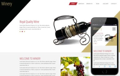 Winery a Hotel Category Flat Bootstrap Responsive Web Template