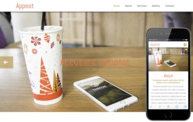 Appest a Mobile App based Flat Bootstrap Responsive Web Template