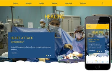 Healing a Medical Category Flat Bootstrap Responsive Web Template