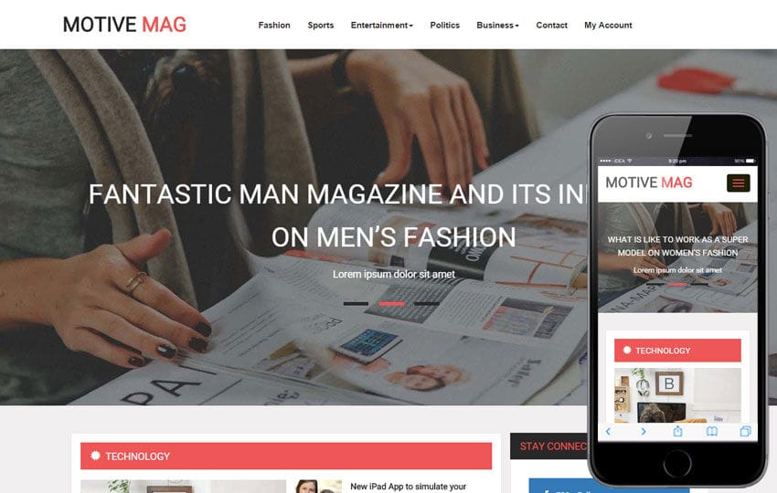 Motive Mag a Entertainment Category Flat Bootstrap Responsive Web Template Mobile website template Free