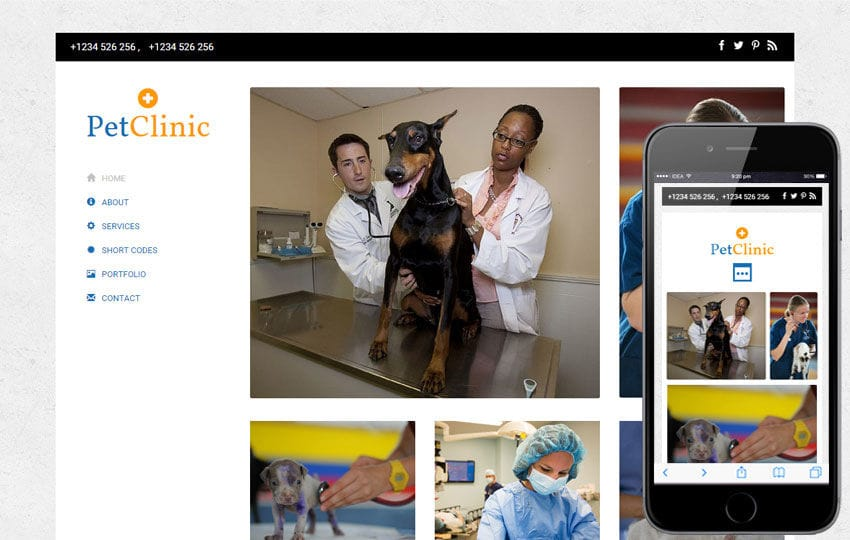 Pet Clinic a Animal Category Flat Bootstrap Responsive Web Template Mobile website template Free