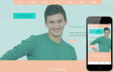 Thronged a Corporate Business Flat Bootstrap Responsive Web Template