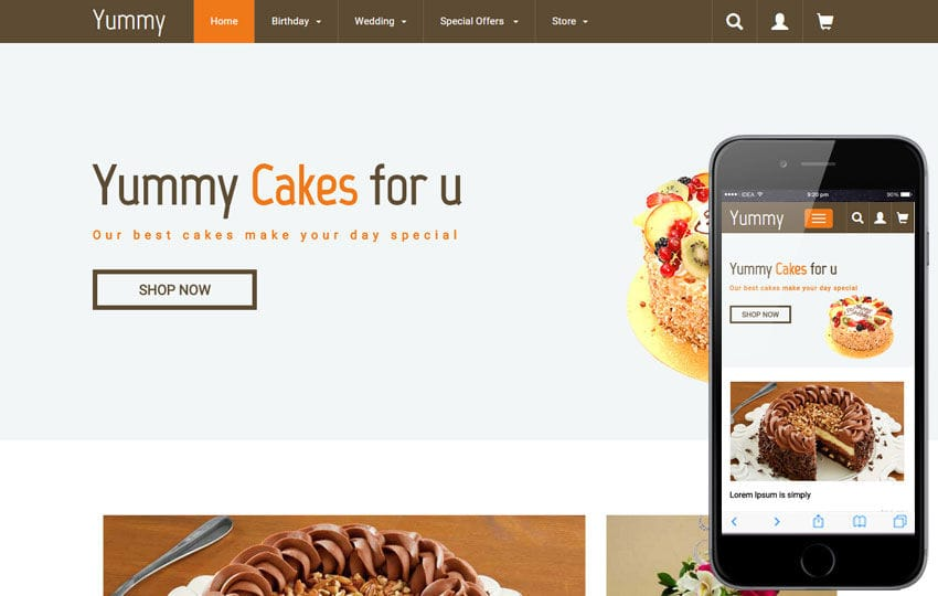Yummy a Hotel Category Flat Bootstrap Responsive Web Template Mobile website template Free
