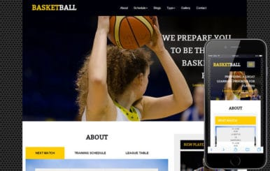 Basketball a Sports Category Flat Bootstrap Responsive Web Template