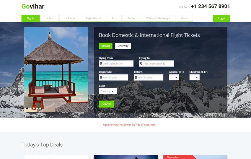 Go Vihar a Travel Guide Flat Bootstrap Responsive web template