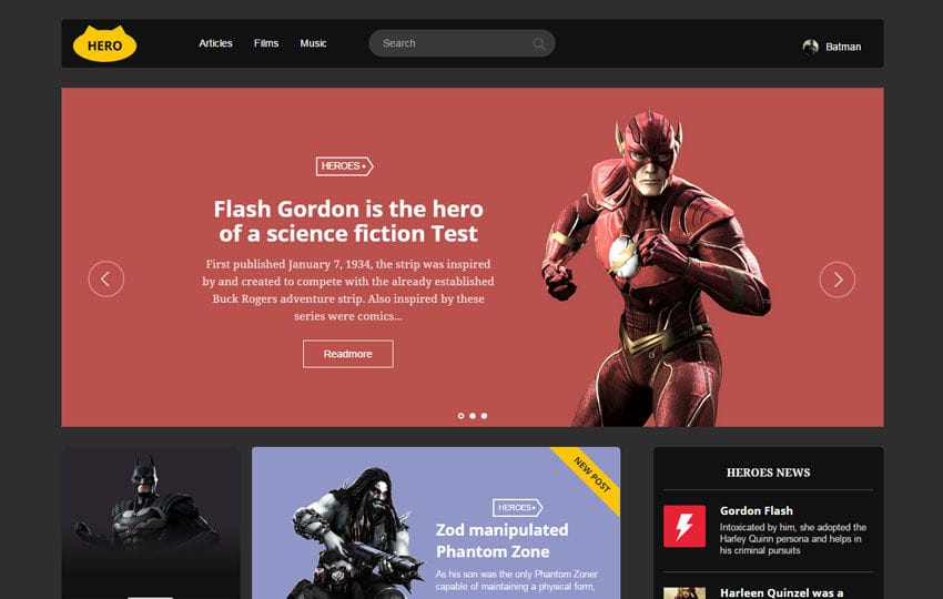 Hero UI Kit a Flat Bootstrap Responsive Web Template Mobile website template Free