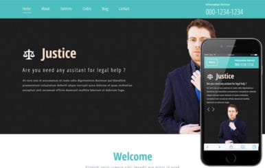 Justice a Business Category Flat Bootstrap Responsive Web Template