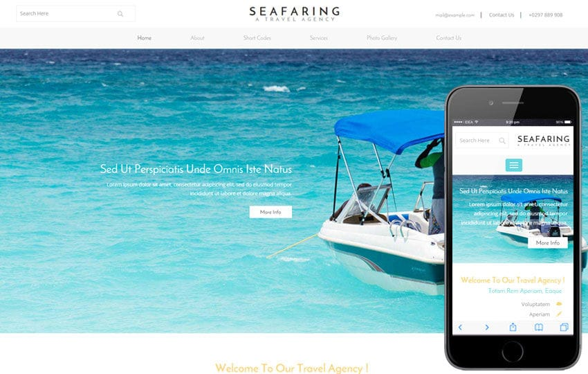 Seafaring a Transport Category Flat Bootstrap Responsive Web Template