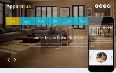Apparatus a Interior Architects Multipurpose Flat Bootstrap Responsive Web Template
