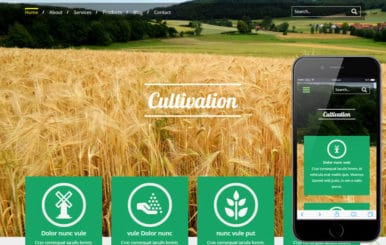 Cultivation a Agriculture Category Flat Bootstrap Responsive Web Template