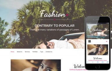 Fashion Plus a Fashion Category Flat Bootstrap Responsive Web Template