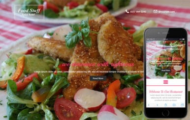 Food Stuff a Hotel Category Flat Bootstrap Responsive Web Template